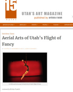 Artist of Utah 15 Bytes review