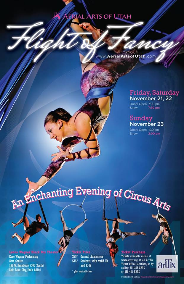 Flight of Fancy 2014, An Enchanting Evening of Circus Arts