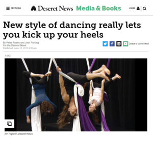 Deseret News - Aerial Arts of Utah