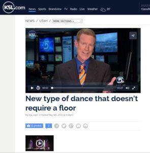 Aerial Dance, KSL Tv Segment